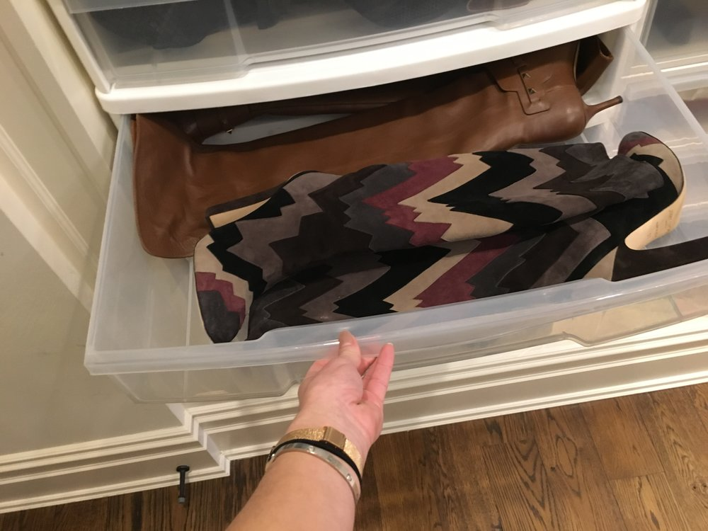 Boot Storage | Blind Closet