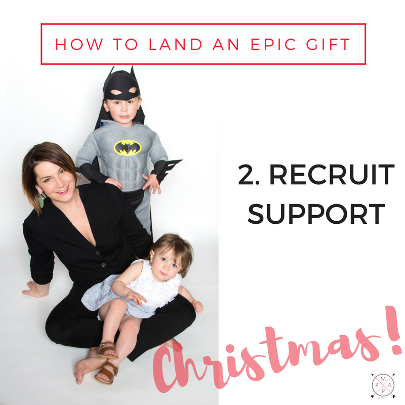 Epic Gift Getting Tip #2: Recruit Support | MappCraft.com