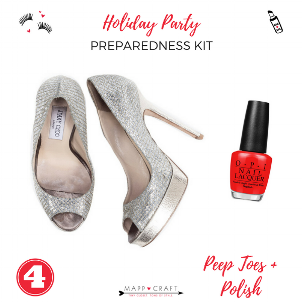 The Essential Holiday Party Preparedness Kit | Peep Toes and Polish