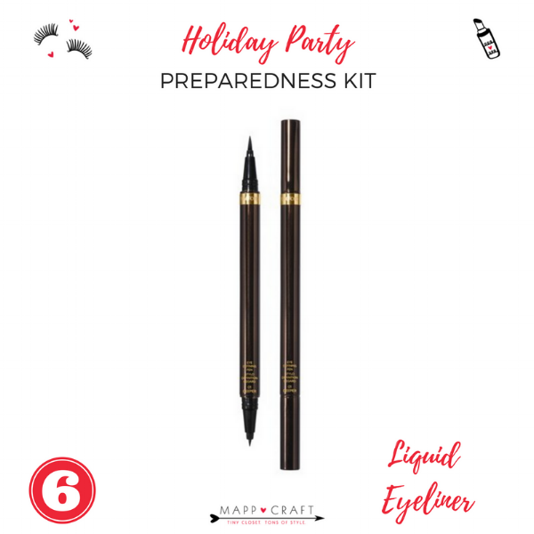The Essential Holiday Party Preparedness Kit | Liquid Eyeliner