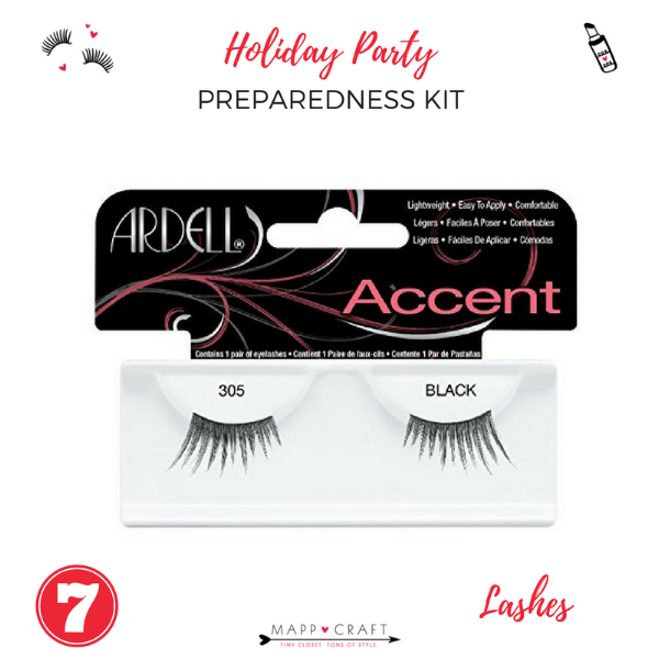 The Essential Holiday Party Preparedness Kit | Fake Lashes