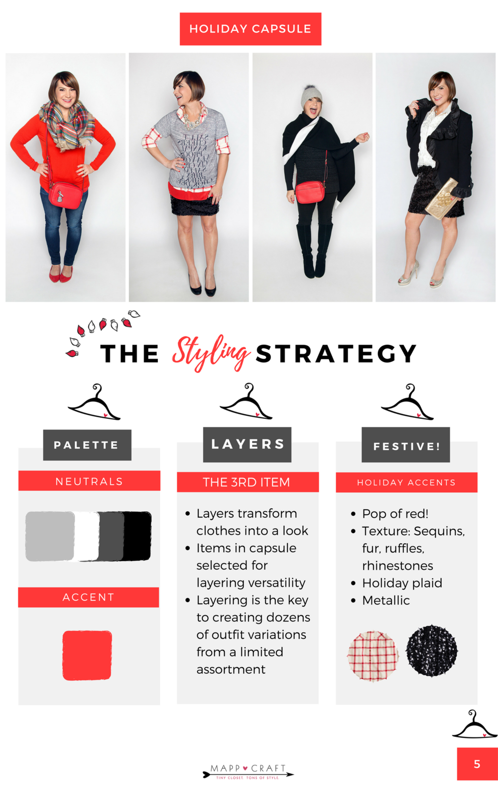 The MaTiny Closet Holiday Survival Guide Styling Strategy