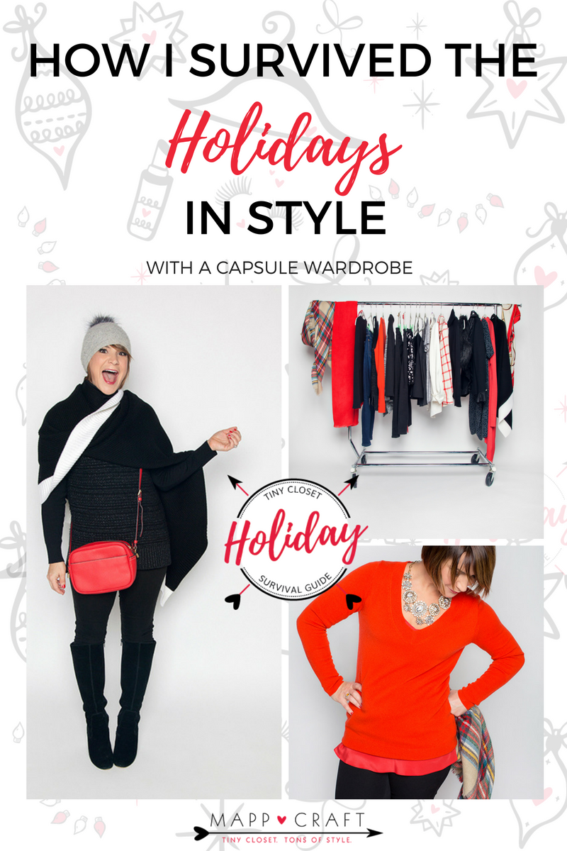 MappCraft I How a Capsule Wardrobe E-book Helped Me Survived the Holidays In Style