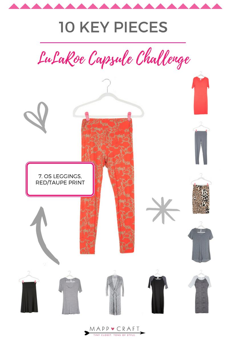 LuLaRoe Capsule Challenge | Key Piece #7 Print Leggings