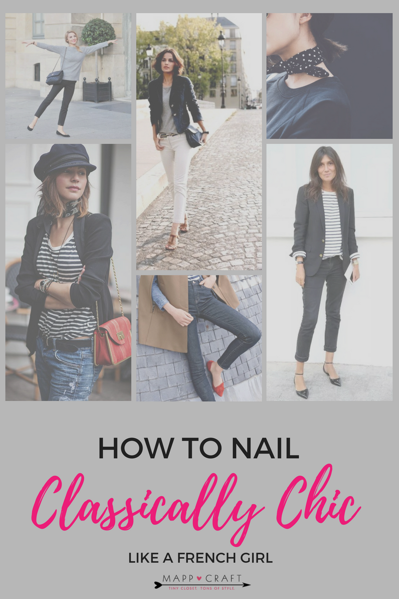 MAPPCRAFT.COM | HOW TO NAIL CLASSICALLY CHIC LIKE A FRENCH GIRL