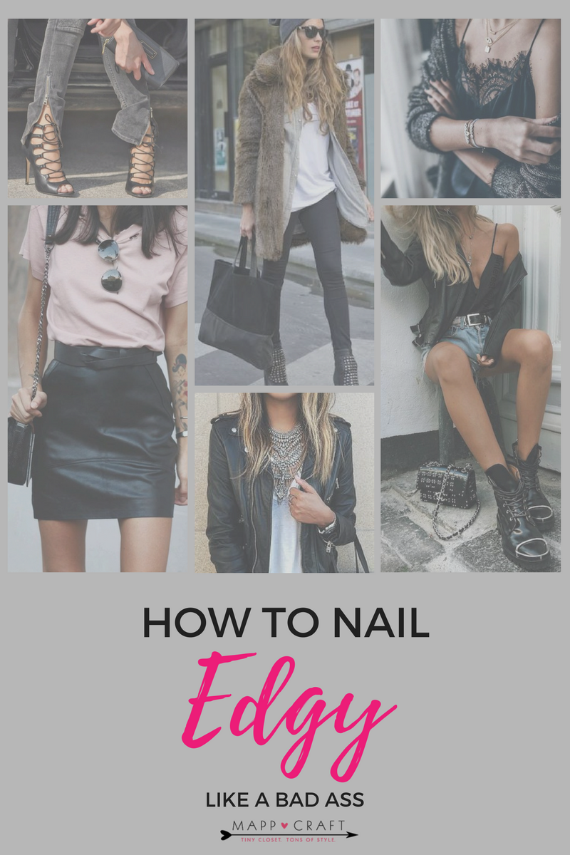 MappCraft | Nail Edgy Style with the Fool Proof Outfit Formula