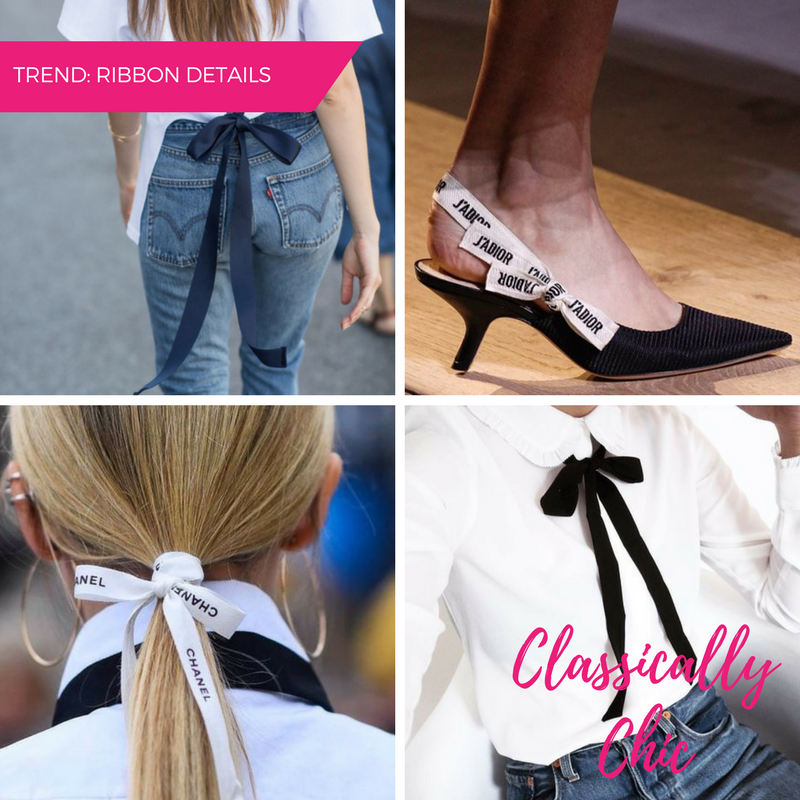 MappCraft | Spring '17 Street Style Trends: Classically Chic Ribbon Details
