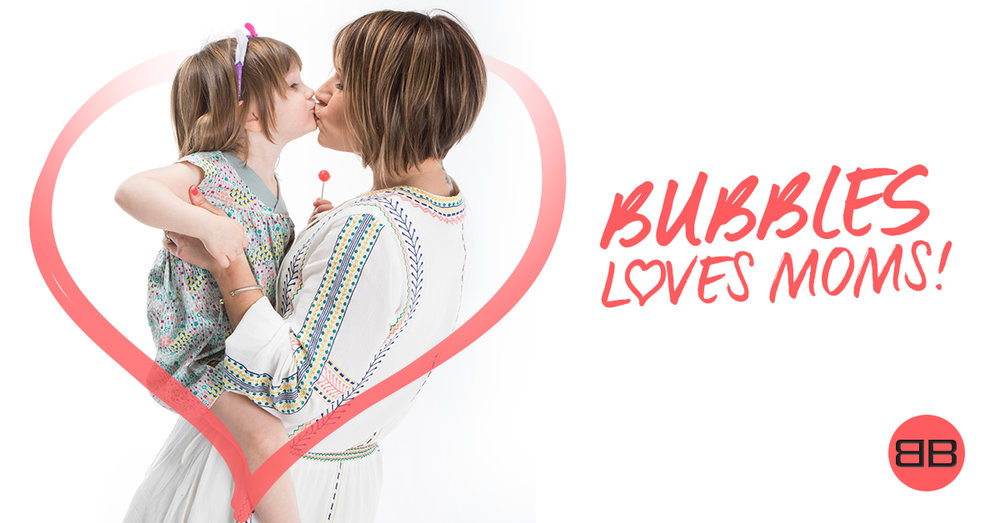 Make your Mom feel pretty again at Bubbles Hair Salons