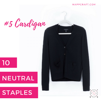 MappCraft | You Only Need 10 Neutral Staples to Create an Endless Wardrobe