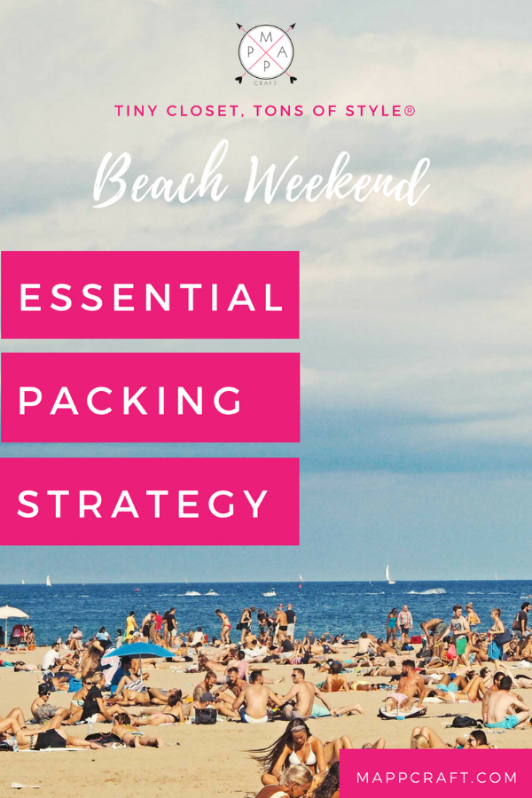 MappCraft | Essential Packing Strategy, Beach Weekend