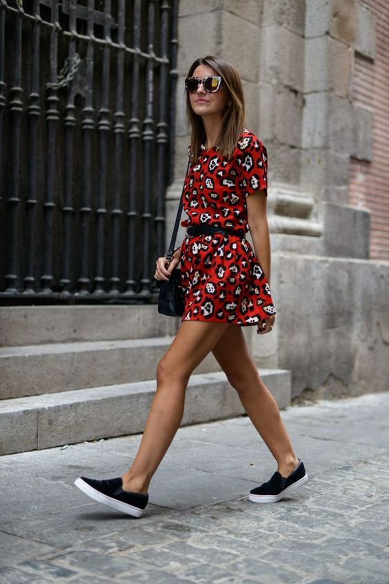 Summer Outfit Formula #3: Sundress + Sneakers