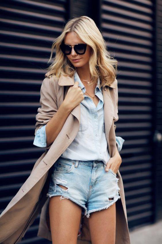 Summer Outfit Formula #5: Dressed Up Denim