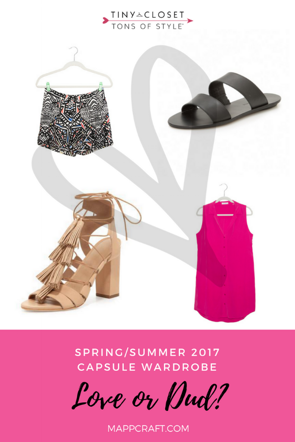 MappCraft | Love or Dud? Spring/Summer 2017 Capsule Wardrobe Review