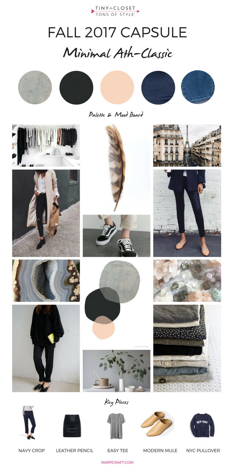 MappCraft | Fall 2017 Minimalist Mood Board