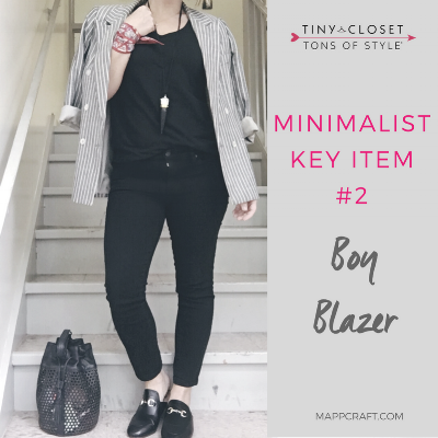 MappCraft | Minimalist Key Item #2: Boy Blazer
