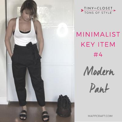 MappCraft | Minimalist Key Item #4: Modern Pant