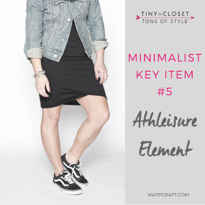 Fall 2017 Minimalist Essential #5: Athleisure Element