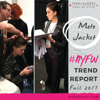 MappCraft | #NYFW Street Style Trend Report Fall 2017 - Moto Jacket