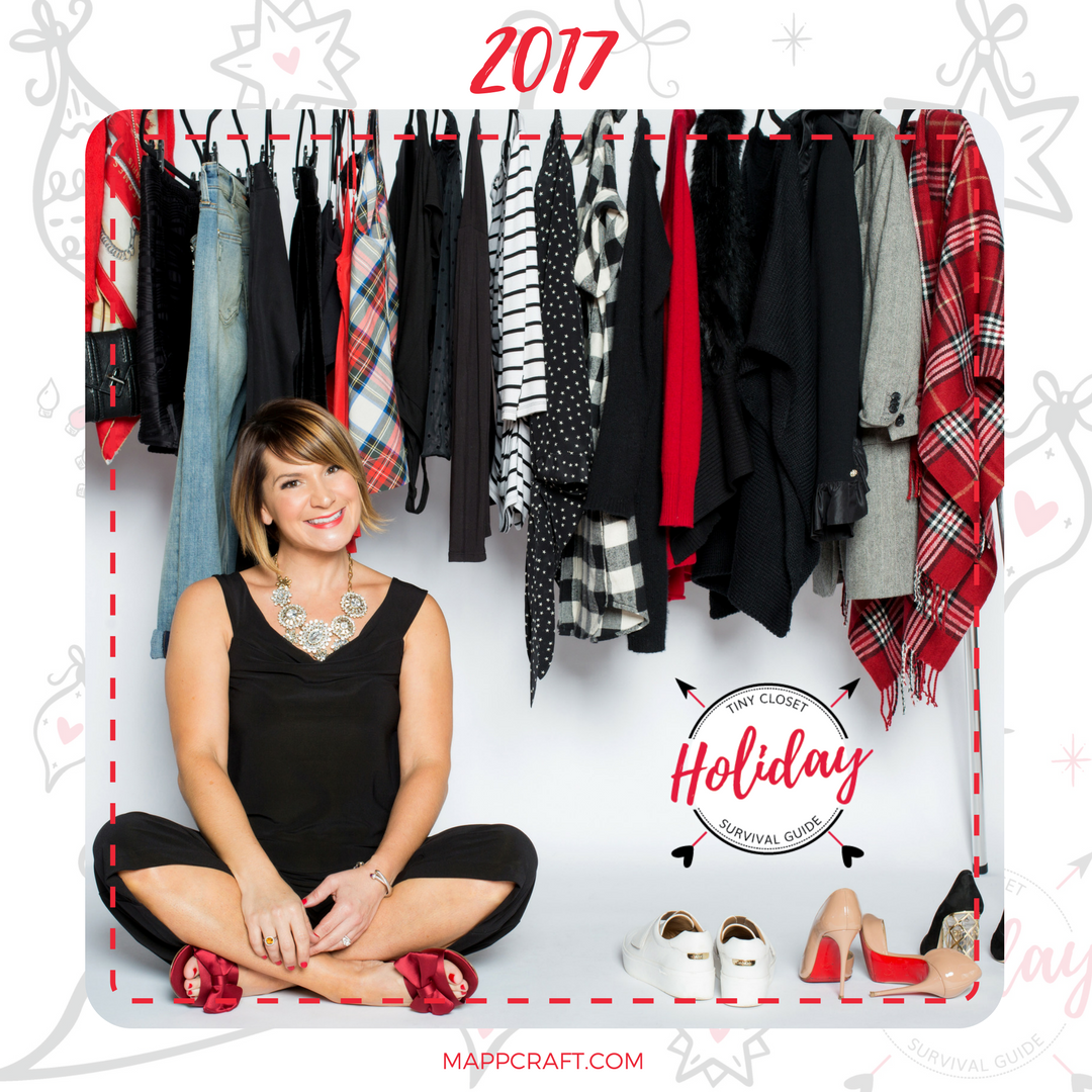 Tiny Closet Holiday Survival Guide 2017 MappCraft Holiday Capsule E-book