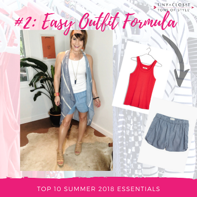 MappCraft | Summer 2018 Essentials #2 Madewell Easy Outfit Formula