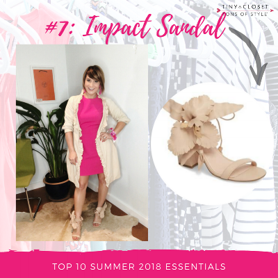 MappCraft | Summer 2018 Essentials #7 Impact Sandal