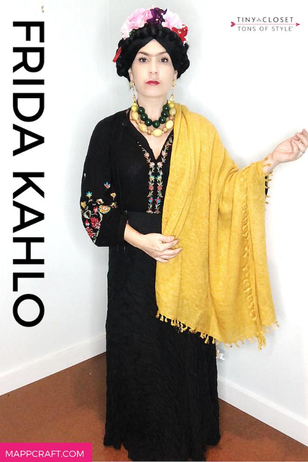 Last Minute Halloween 2018 Costume Idea #3:  Frida Khalo