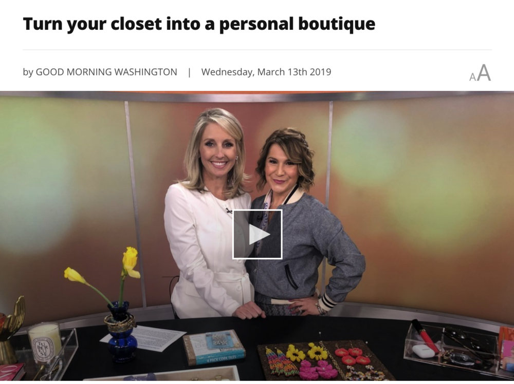 Watch my segment on ABC7 Good Morning Washington to see these merchandising tips in action!