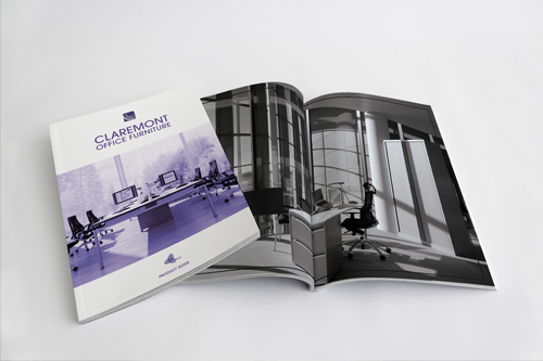 Claremont Office Furniture</a><strong>Brochure Design</strong>