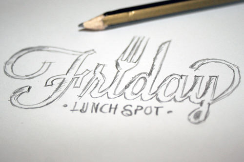 Friday Lunch Spot</a><strong>Brand Identity • Stationary Design</strong>