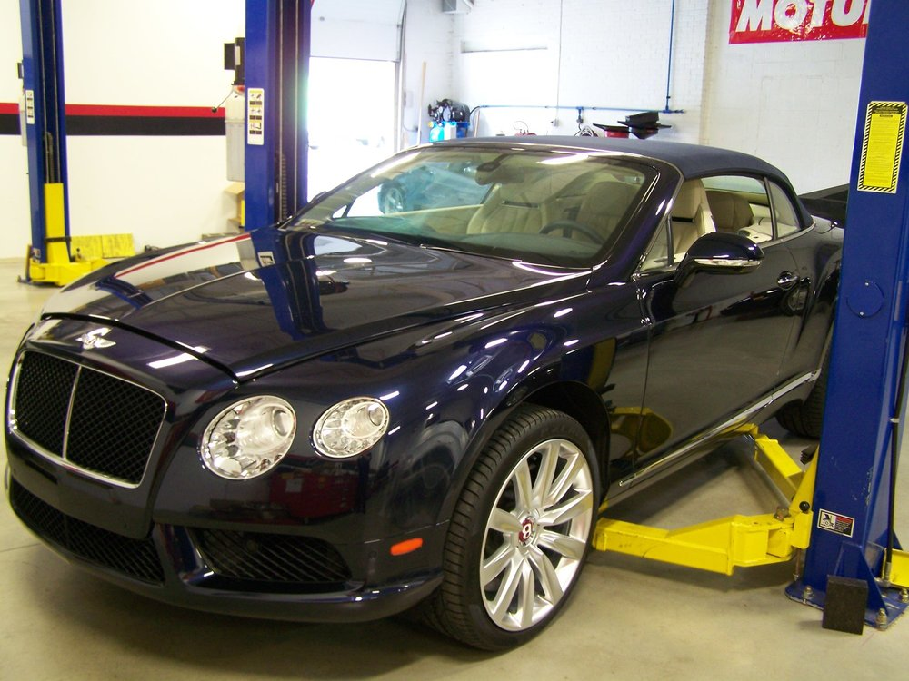 Bentley repair service maryland
