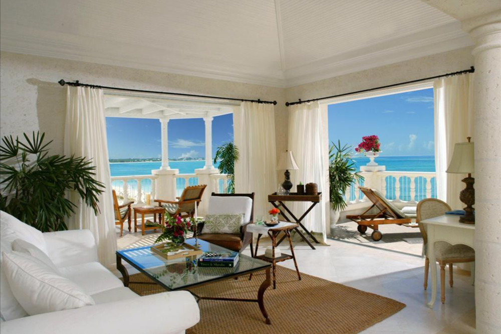 Penthouse Living Room - The Regent Palms Turks and Caicos
