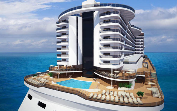 New Ships - MSC Seaside