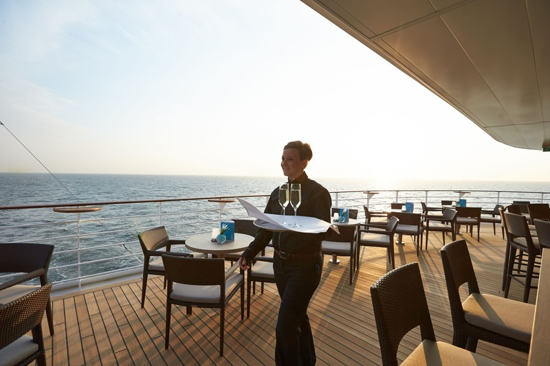 The Yacht Club on the MS Europa 2