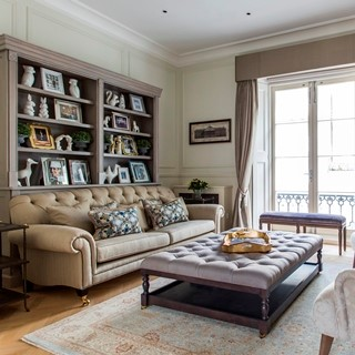OVINGTON GARDENS Knightsbridge, London  Sleeps 6  |  Bedrooms 3  |  Bathrooms 2  Spacious dining Terrace Family friendly GBP 855 / night View home