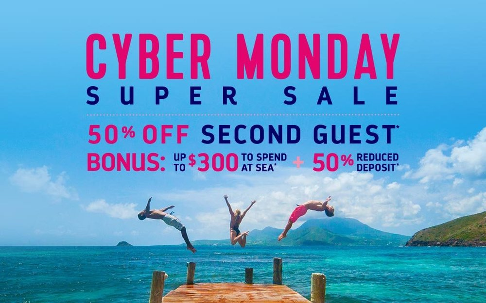 Cyber Monday Super Sale Royal Caribbean