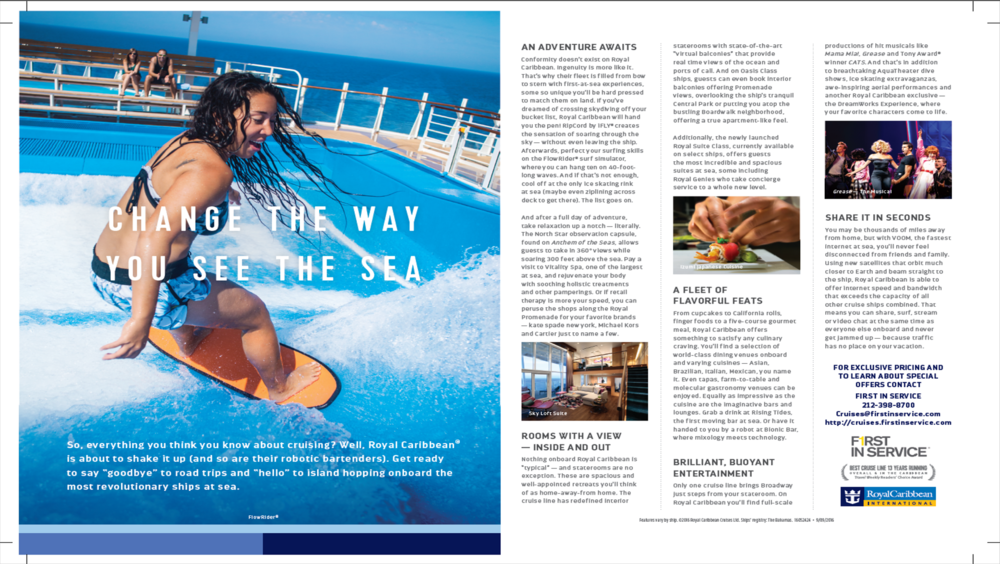 Royal Caribbean Bella Magazine