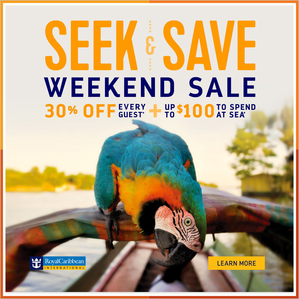 Royal Caribbean Weekend Sale - March 2017