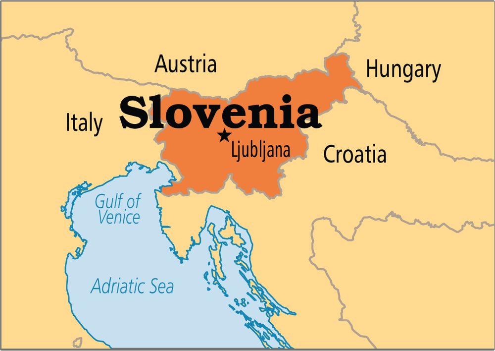 WHERE IS SLOVENIA? - Slovenia is situated in Central Europe and borders Italy, Austria, Hungary and Croatia. It is only a few hour drive away from Venice or Vienna. Slovenia is easily accessible from all neighbouring countries, as it has good road and rail connections, with daily flights from many European cities. Since it is a coastal country, you can also get to Slovenia by sea.