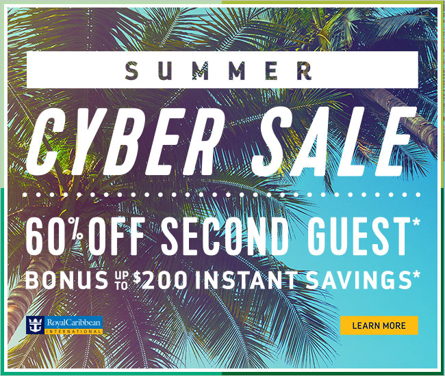 Summer Cyber Sale - Royal Caribbean