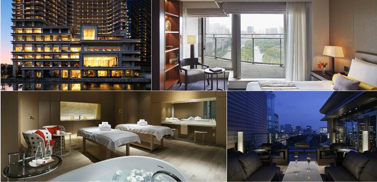 Urban Zen. Soak In Magnificent Floor To Ceiling Views Of The Imperial Palace