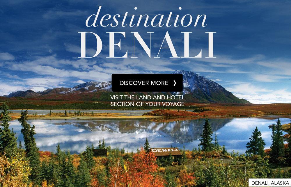 Alaska Denali Siversea