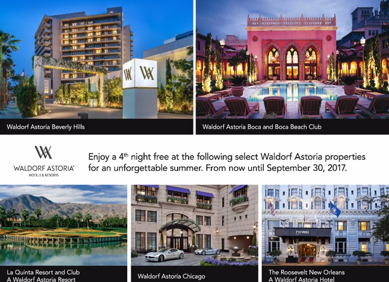Waldorf Astoria Summer