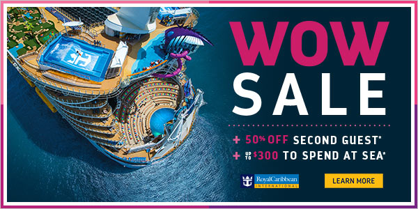 October WOW Sale - Royal Caribbean
