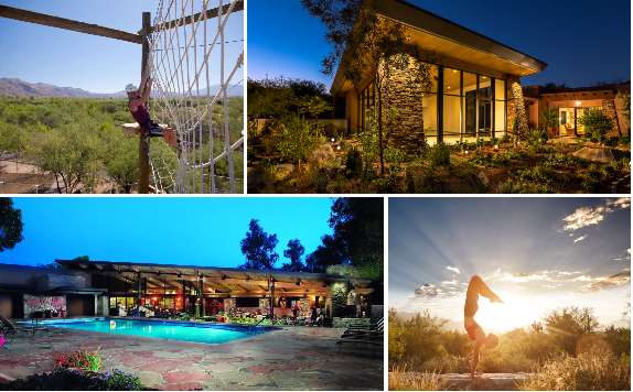 Spa heaven. This renowned haven of wellness celebrates the harmony of nature with inner peace. Explore the canyon bike trails and scenic hikes. Sample dozens of fitness classes. Revive with heavenly body treatments. Indulge in the award-winning spa cuisine.