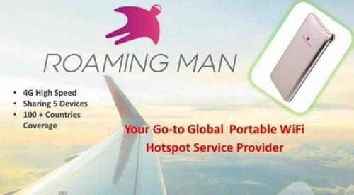 Roaming Man Portable Wifi