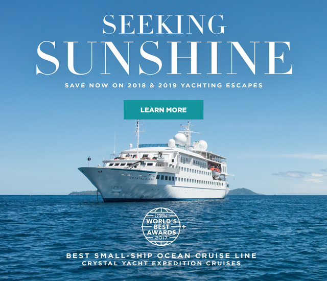 Crystal Cruises 2018