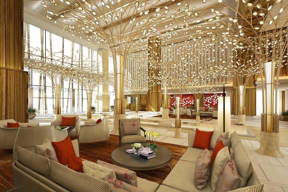 Mandarin Oriental Dubai Lobby