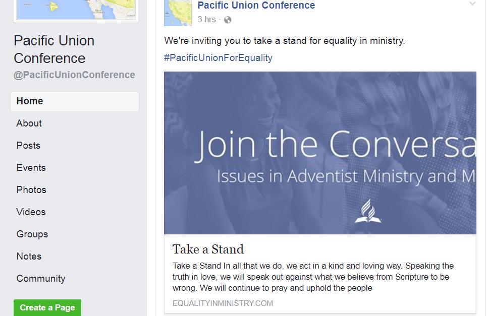 PUC Facebook page
