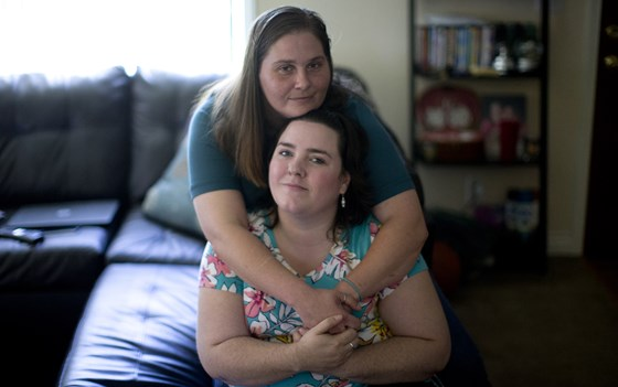 Lesbian couple who filed complaint against Sweet Cakes Bakery.