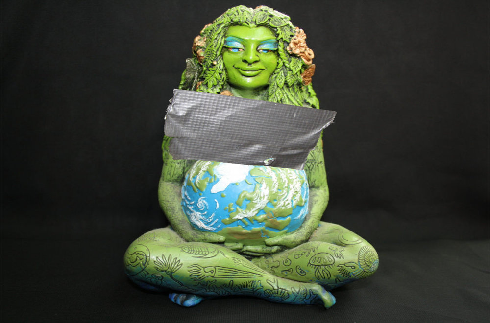 Gaia, goddess of Mother Earth